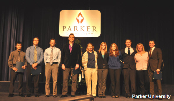 Parker Chiropractic Who's Who Recipients