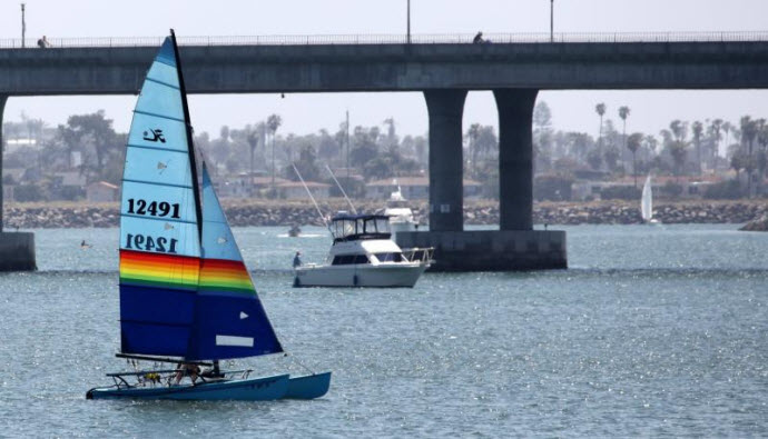 Sailboat San Diego 12491