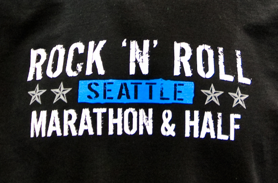 Seattle Rock 'n Roll Marathon 2009 T-shirt