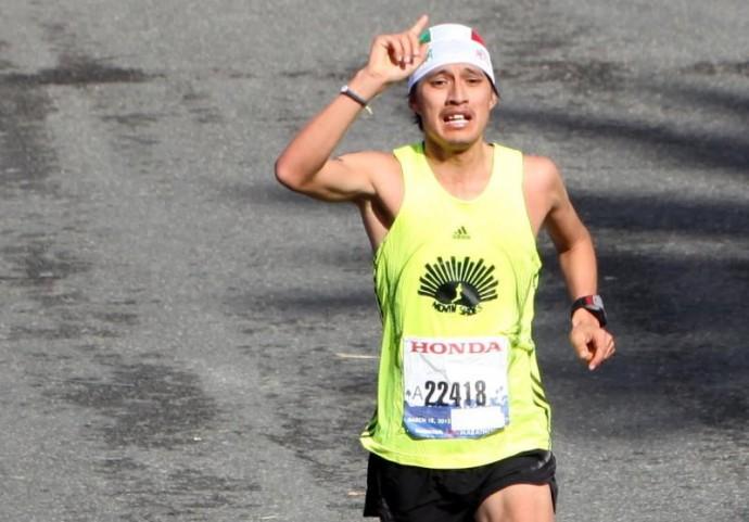 Tlaloc Venancio Mancilla 2012 LA Marathon