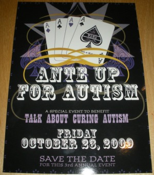 Ante Up for Autism 2009