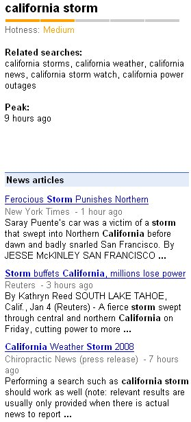 California storm news power outages