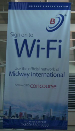 Chicago Airport WiFi not Free
