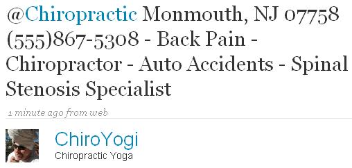 Chiropractic Monmouth, NJ