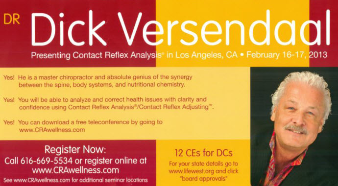 Dick Versendaal Contact Analysis