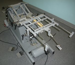 disassembled traction spinal unit