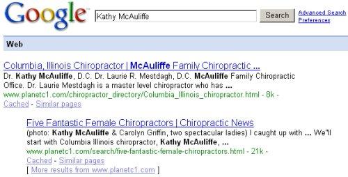Kathy McAuliffe