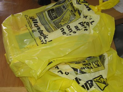 Yellow Bags of Duplicate Content