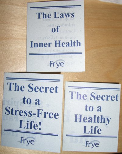 the laws of inner Health