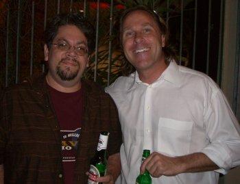 Andy Sorcini aka @MrBabyMan and Michael Dorausch aka @chiropractic