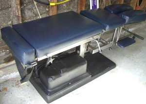 Old School Chiropractic Flexion Table