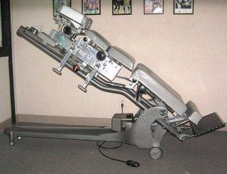 old-school chiropractic adjusting table