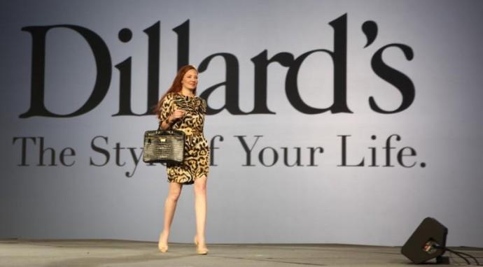 Redheaded Model with Handbag