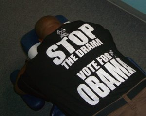 stop the drama - vote for obama