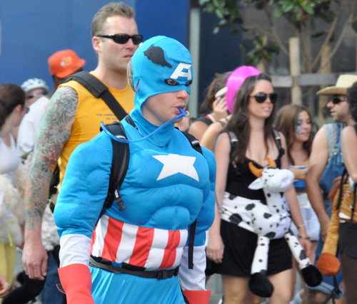 Superheroes Need Exercise Too - Bay to Breakers 2009
