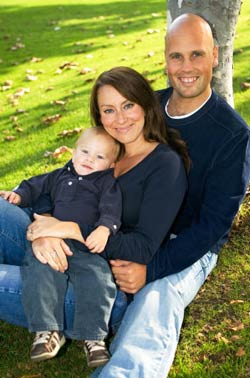 Chiropractor Tim Swift and Family
