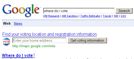 Where Do I Vote?