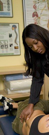 woman chiropractor Vegas