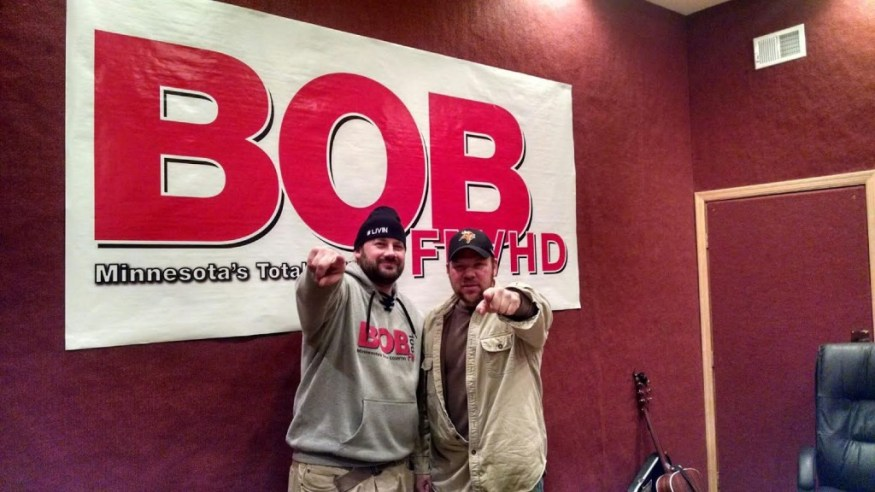 Interview on BOB Total Country FM in Twin Cities