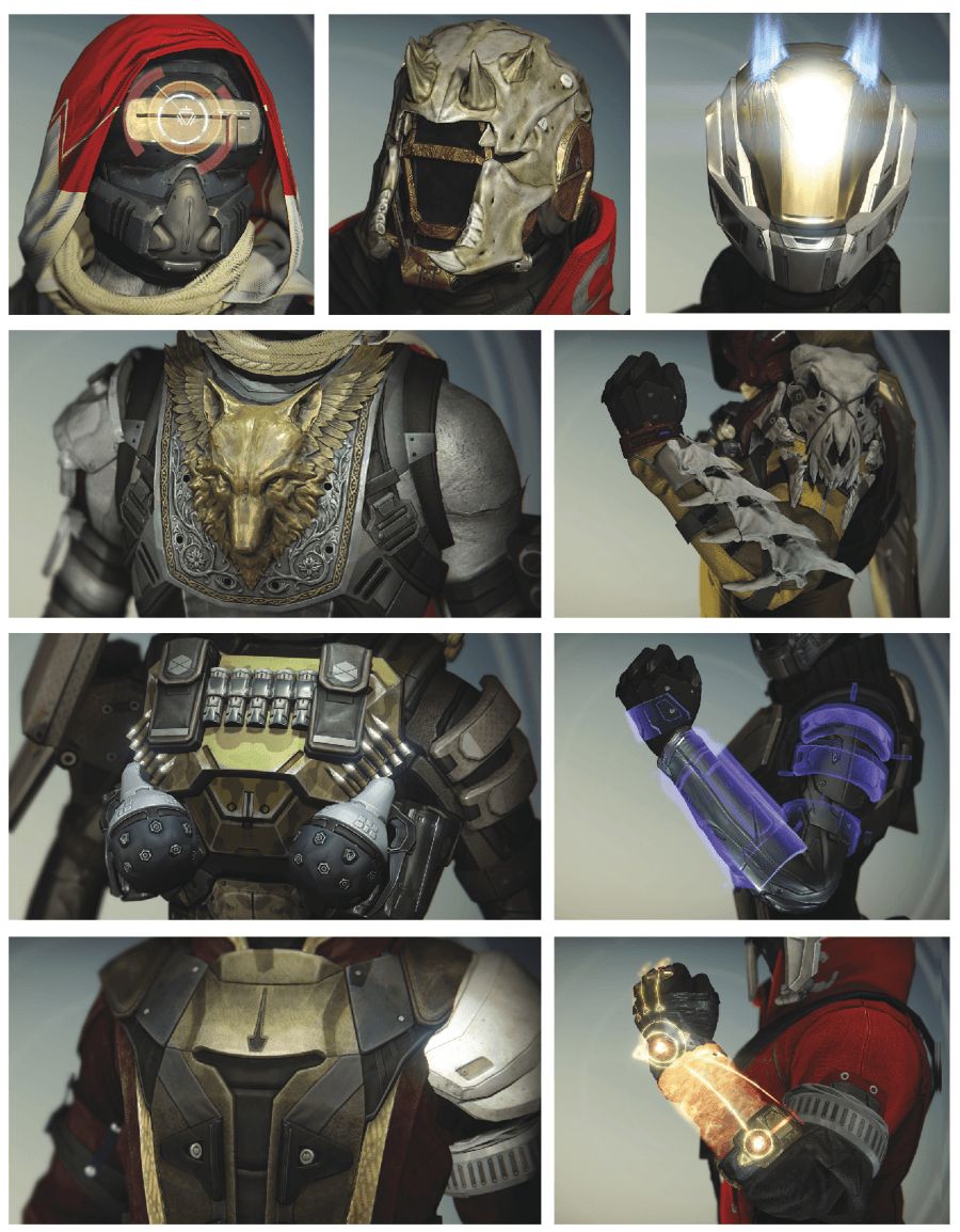 the exotic armor of - photo #12