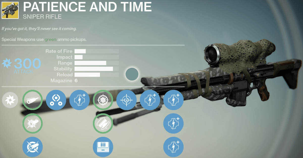 Patience and Time Exotic Review