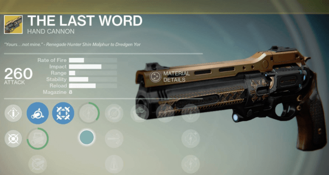 the last word xur