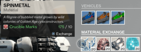 crucible master relic iron
