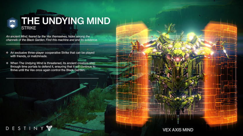 the undying mind strike exclusive