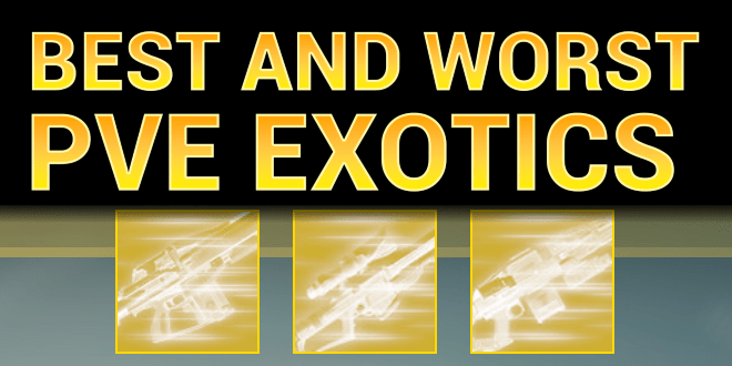 destiny best exotic weapons