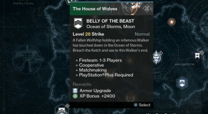 belly of the beast strike