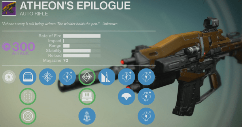 atheon's epilogue review