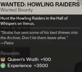 howling raiders