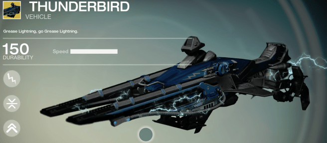 thunderlord exotic sparrow