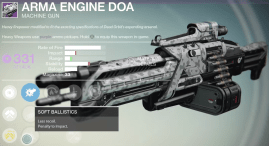 arma engine doa machine gun