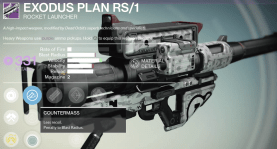exodus plan rocket launcher