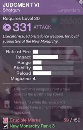 judgment new monarchy