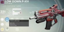 low down p-xiv auto rifle