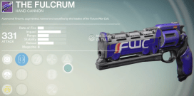 the fulcrum hand cannon
