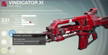 vindicator XI auto rifle