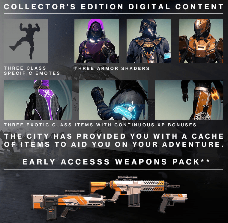 digital content collector's edition