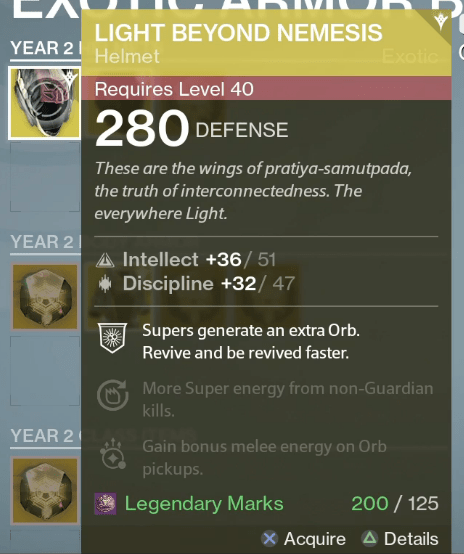 Vault space increased infusion swords to list two examples of exotics that you can upgrade the light beyond nemesis helm will be sporting intellectdiscipline when upgraded and will offer the malvernweather Image collections