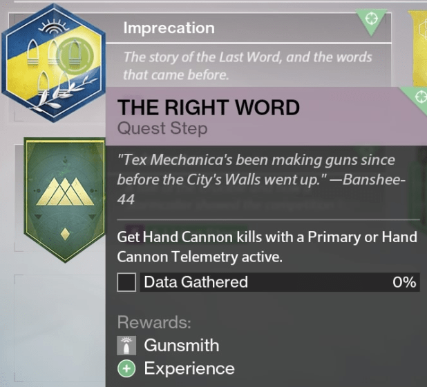 how to get the first exotic