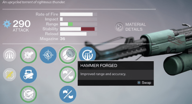 zhalo supercell hammer forged