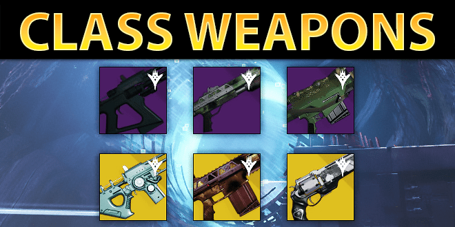 how to get exotic class weapons