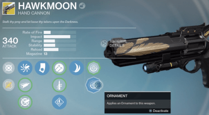 hawkmoon black gold