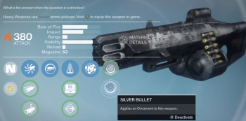 nemesis star exotic ornament