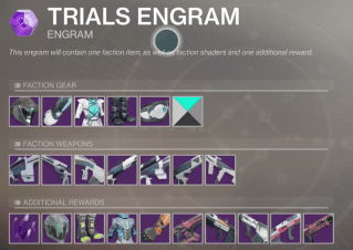 trials engram loot