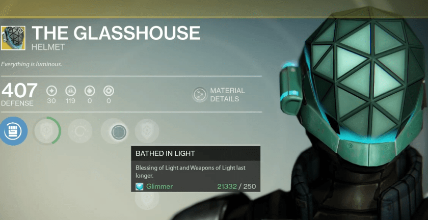 the glasshouse exotic helm