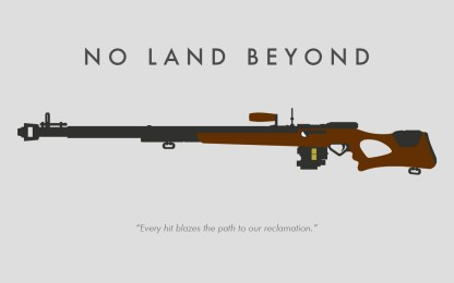 no land beyond wallpaper