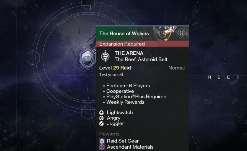 the arena raid modifiers